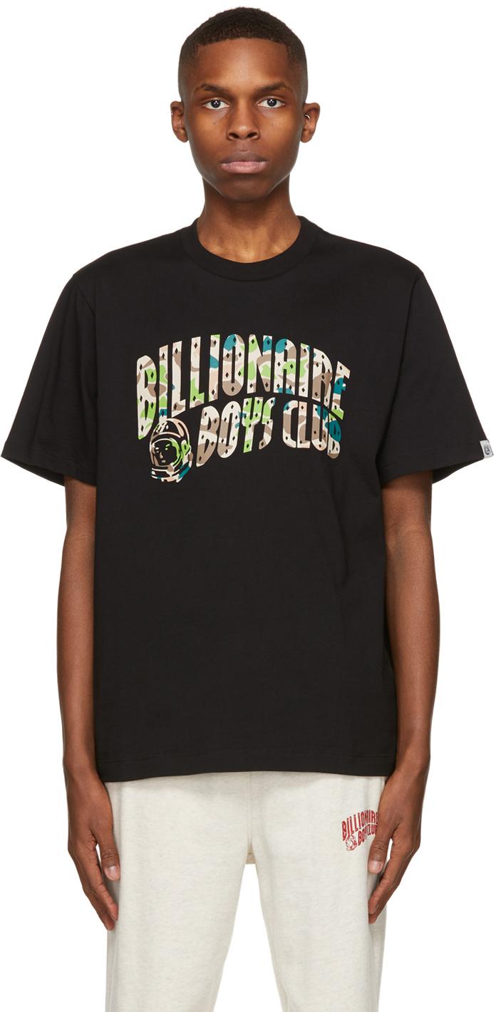 Black Camo Arch Logo T-Shirt