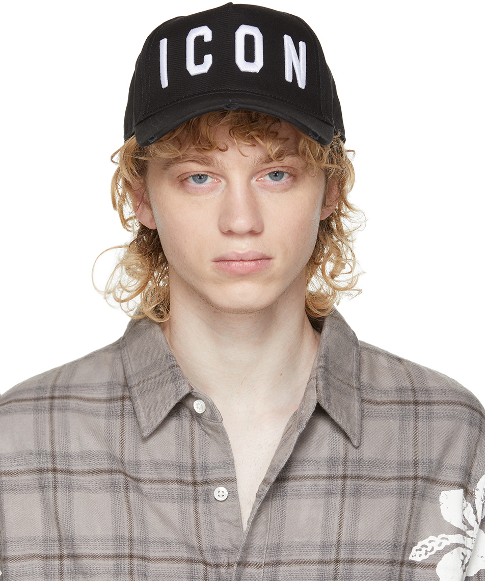 Black Icon Cap