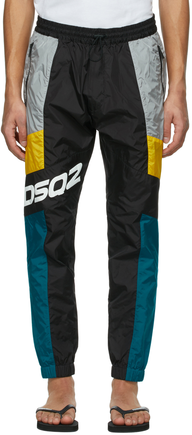 Dsquared2 黑色 Jog Brad 运动裤