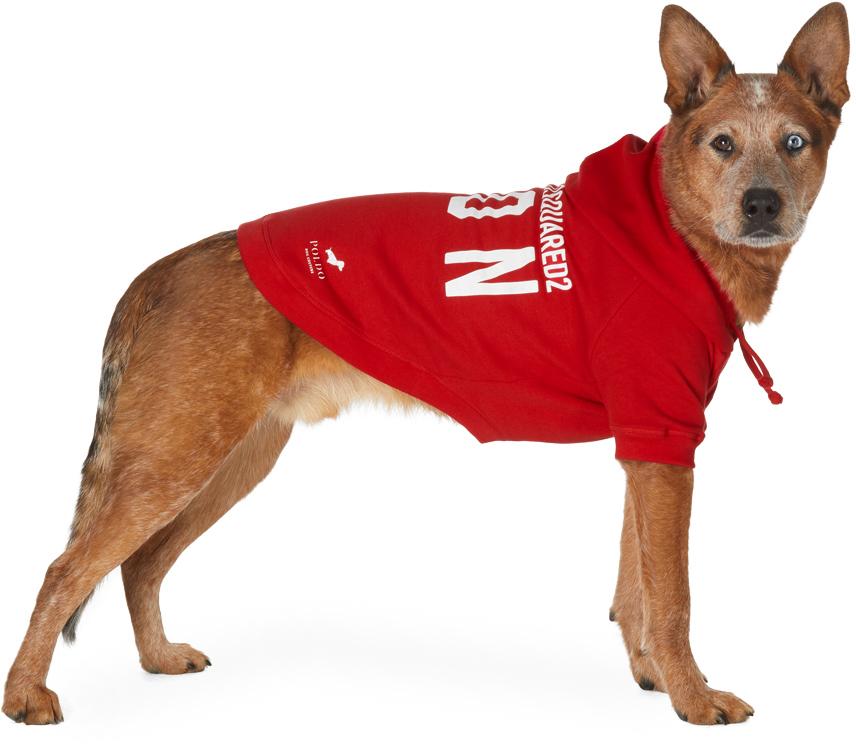 Red Poldo Dog Couture Edition Icon Ottawa Hoodie