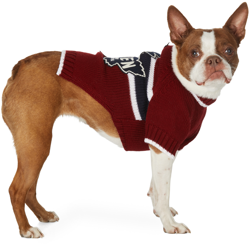 Red Poldo Dog Couture Edition Quebec Sweater