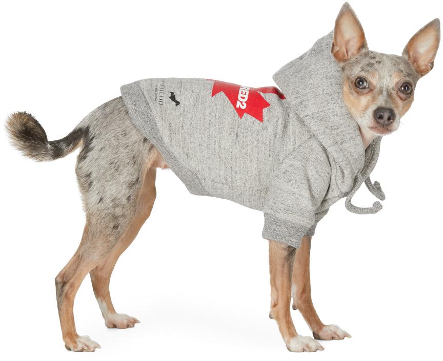 Grey Poldo Dog Couture Edition Maple Ottawa Hoodie