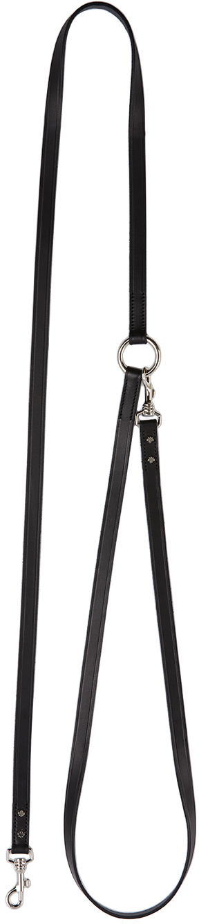 Black Poldo Dog Couture Edition Montreal Leash