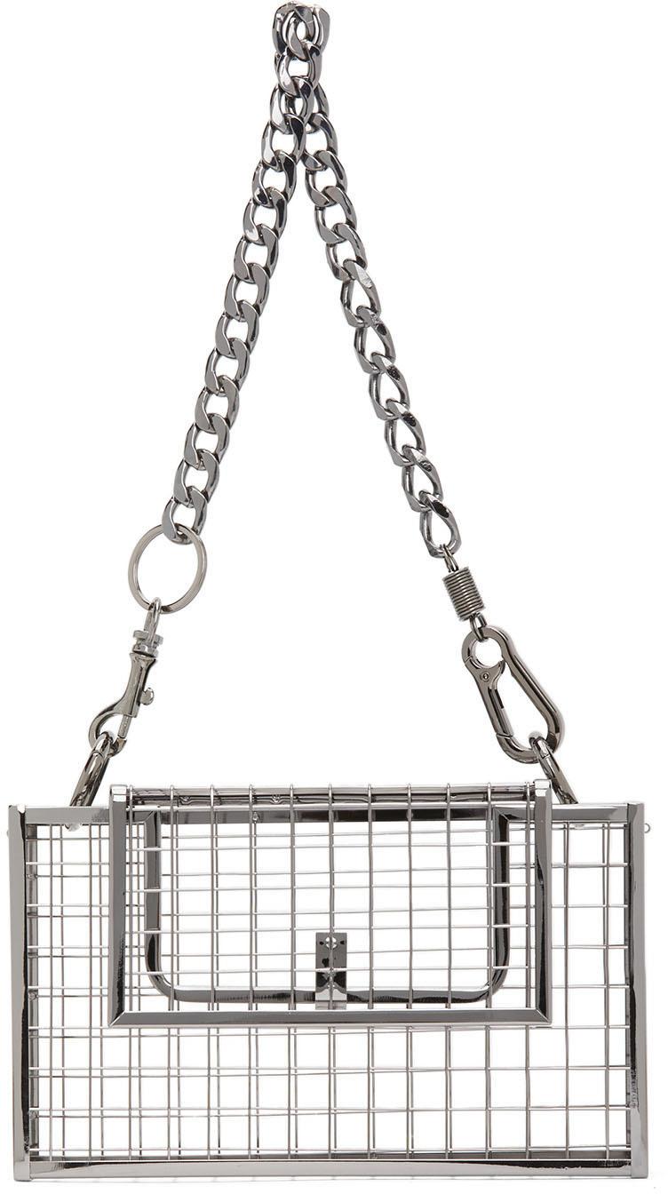 SSENSE Exclusive Gunmetal Desi Bag