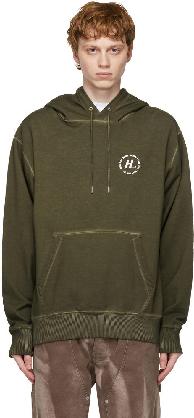 Khaki Garment-Dyed Hoodie