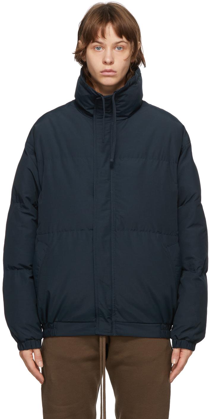 SSENSE Exclusive Navy Puffer Jacket