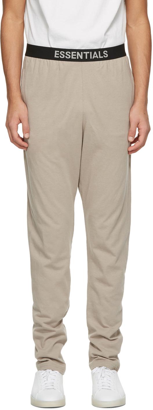 Tan Jersey Lounge Pants