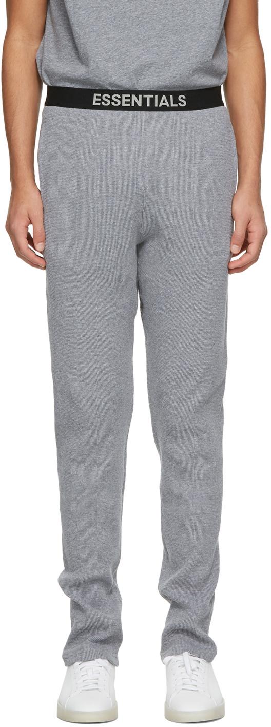 Grey Thermal Lounge Pants