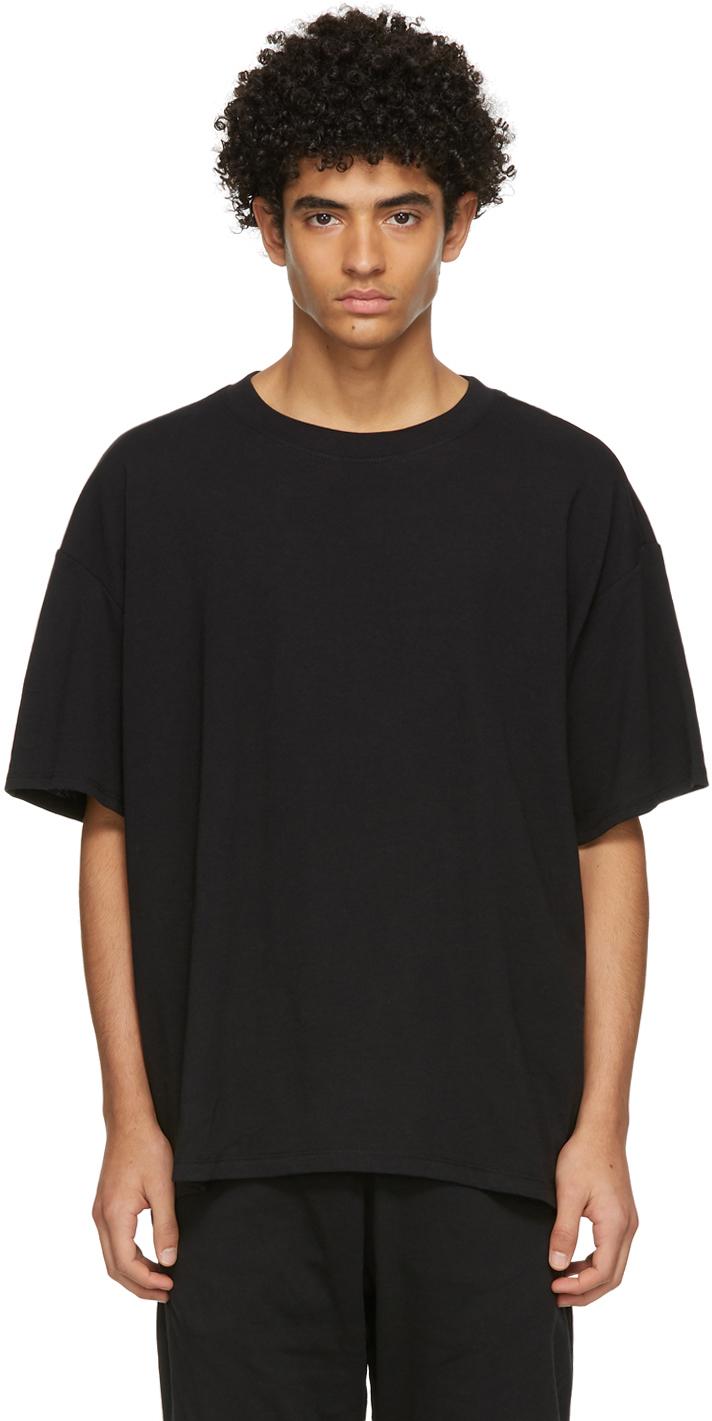 Three-Pack Black Jersey T-Shirts