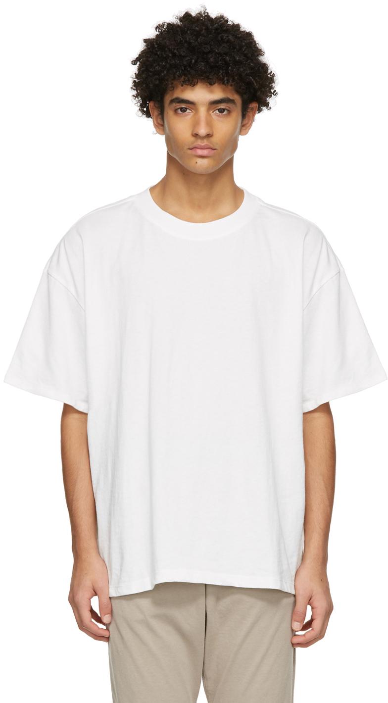 Three-Pack White Jersey T-Shirts