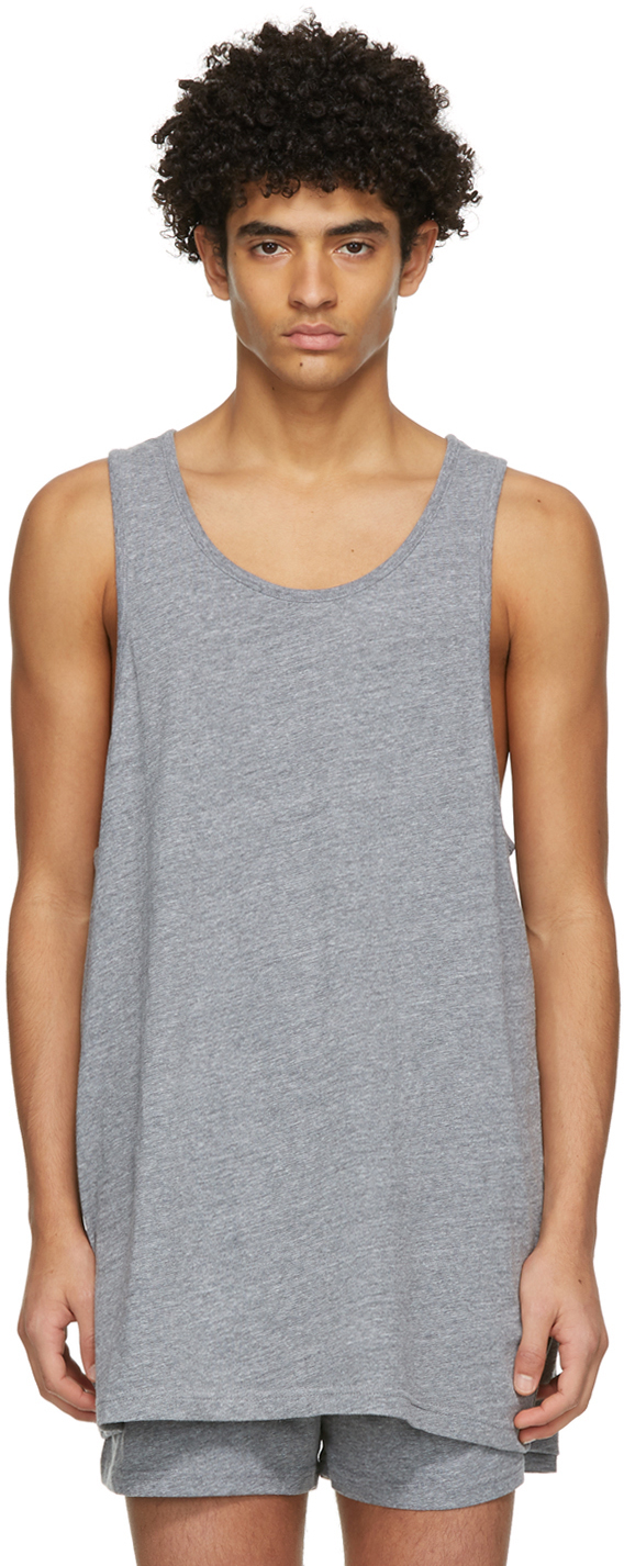 Three-Pack Multicolor Jersey Tank Tops