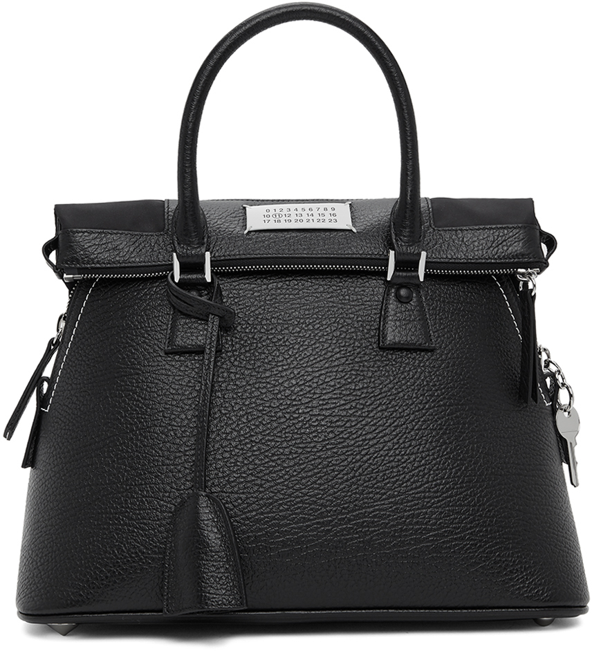 Maison Margiela 黑色中号 5AC 手提包