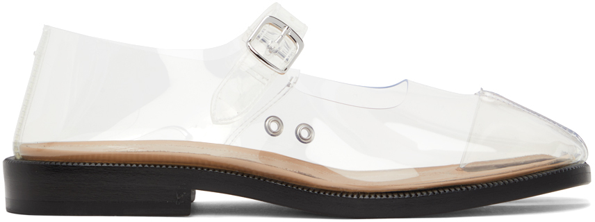 Maison Margiela 透明 Tabi 牛津鞋