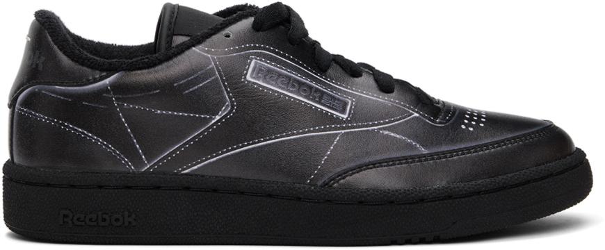 Black Reebok Edition Trompe L'œil Club C Sneakers