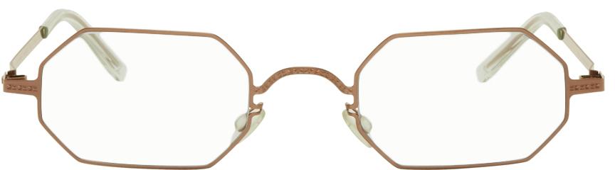 Maison Margiela 红铜色 MYKITA 联名 MMCRAFT004 眼镜