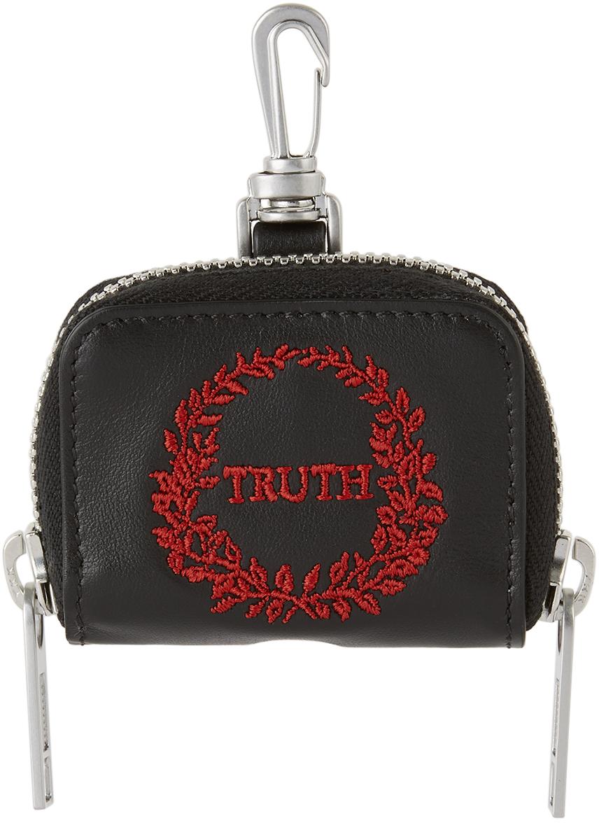 ブラック レザー Truth AirPods Pro ケース