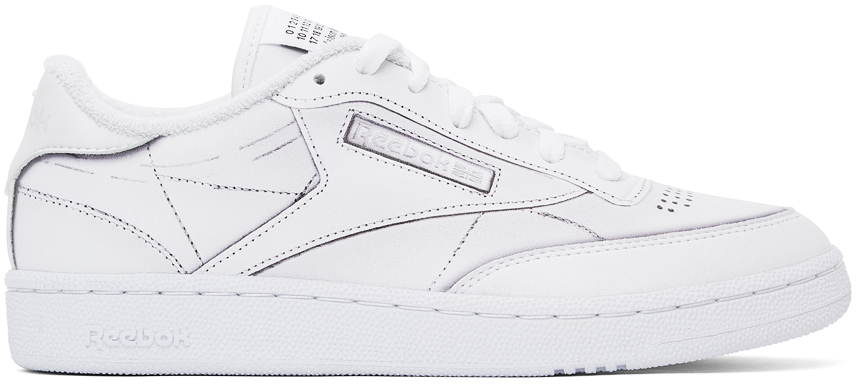 White Reebok Edition Project 0 Sneakers