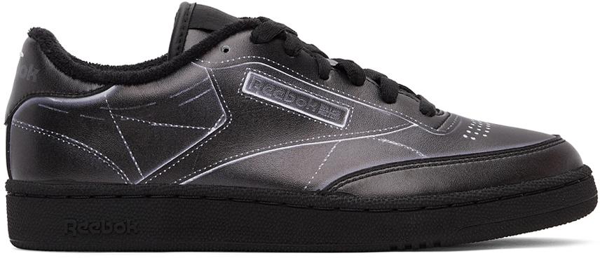 Black Reebok Edition Project 0 Sneakers