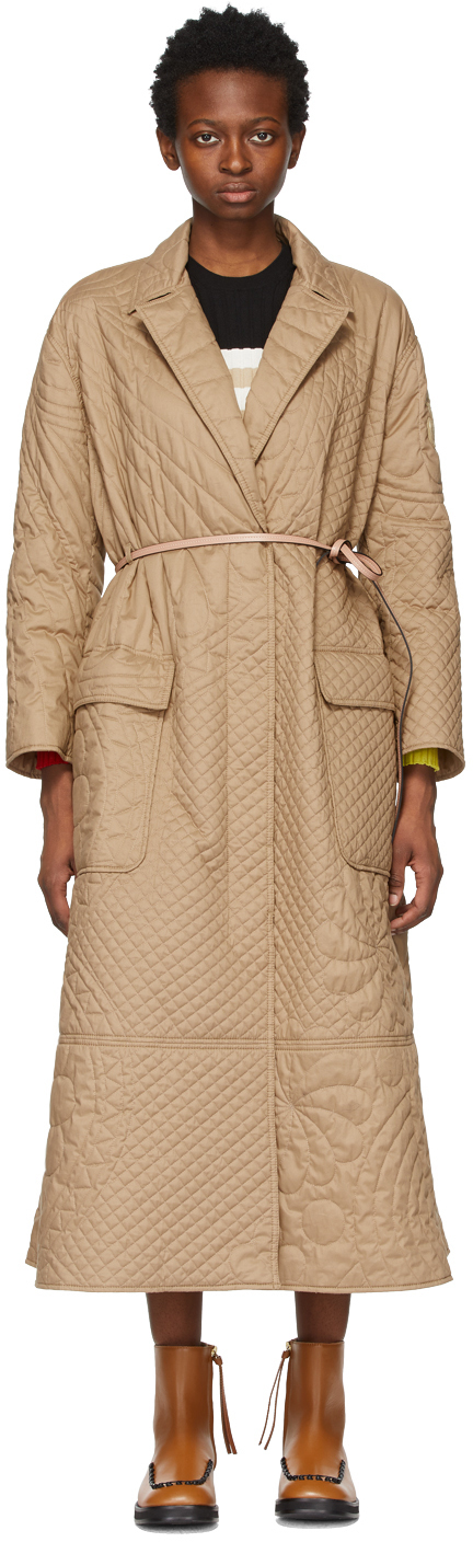 1 Moncler JW Anderson Khaki Quilted Penbryn Coat