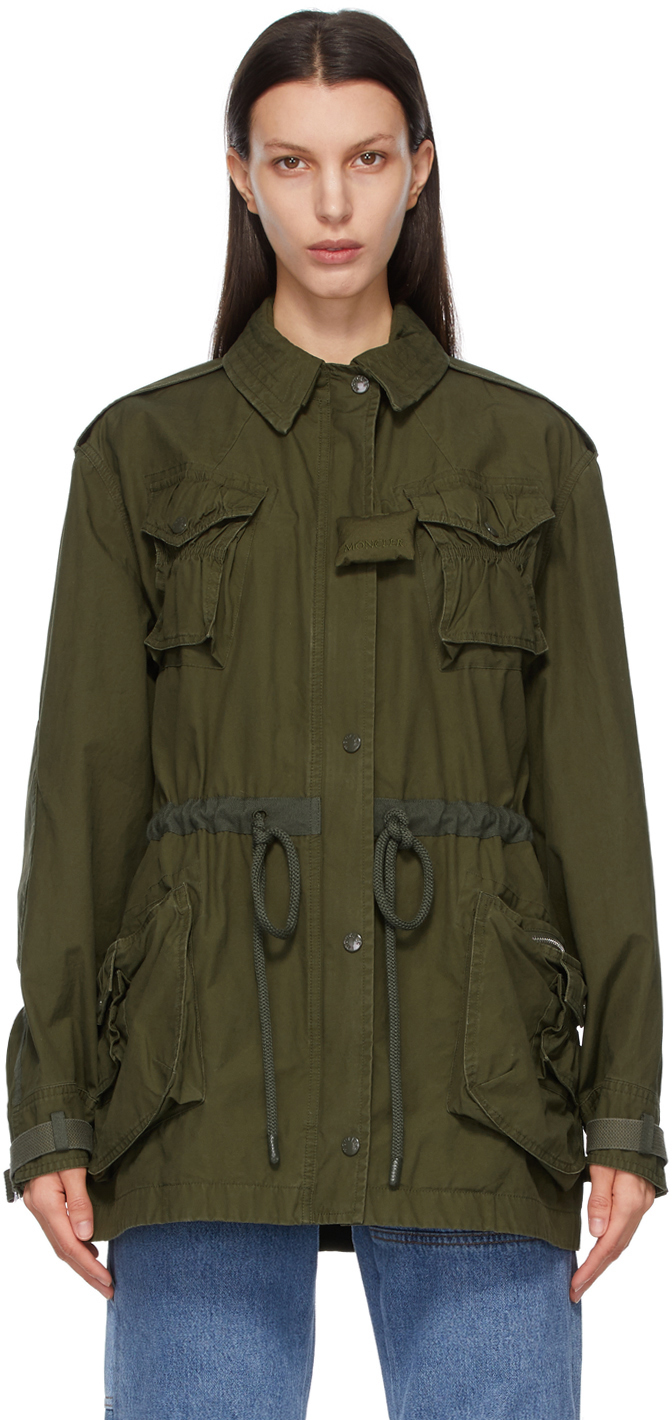 1 Moncler JW Anderson Khaki Field Jacket