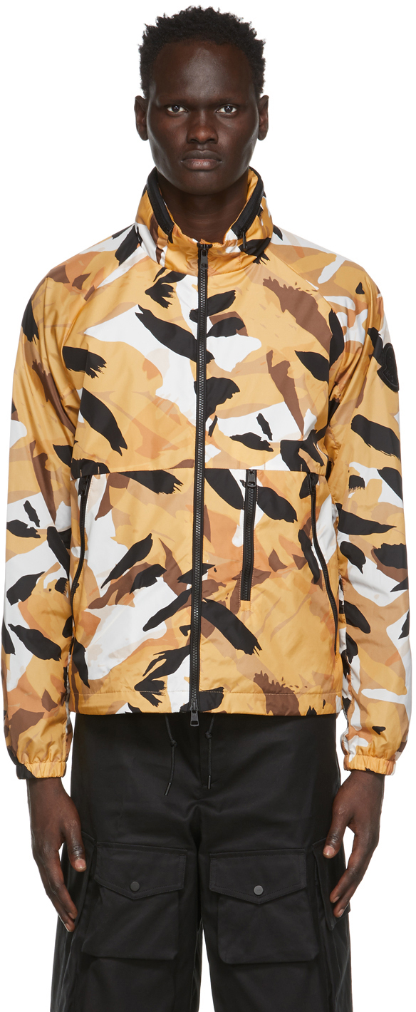 2 Moncler 1952 Yellow Graphic Jacket