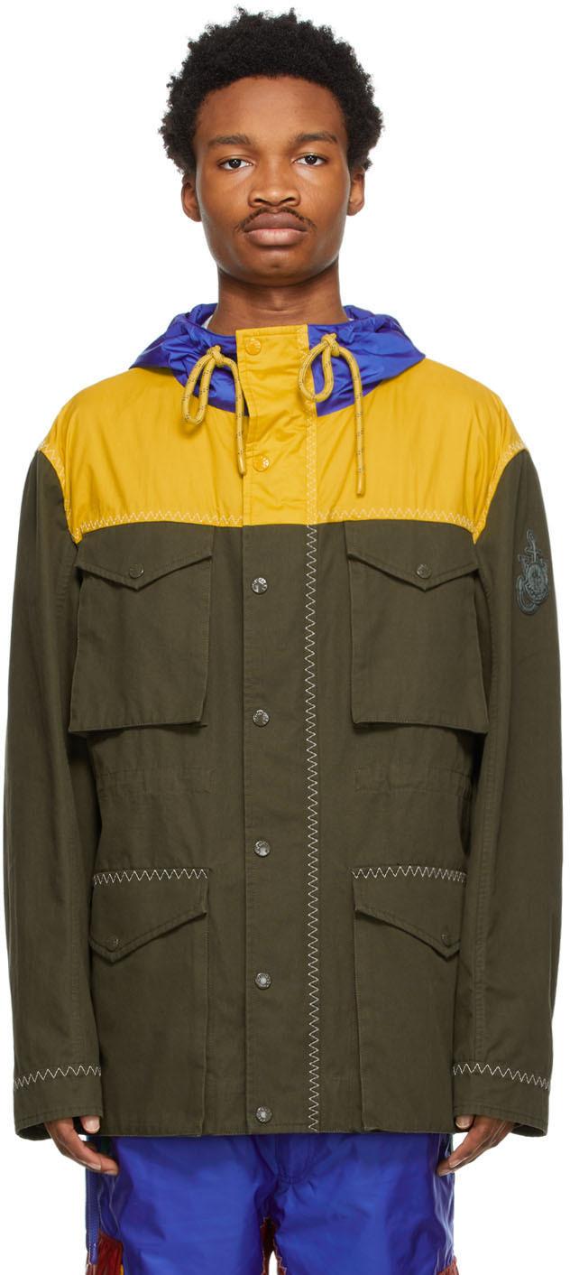 1 Moncler JW Anderson Khaki Colorblocked Jacket