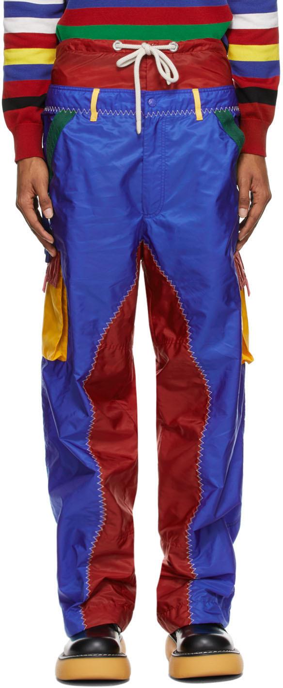 1 Moncler JW Anderson Multicolor Colorblocked Cargo Pants