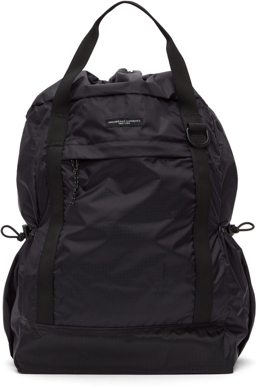 Black Ripstop UL 3 Way Backpack