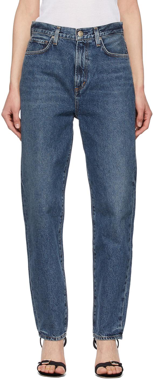 Blue 'The Peg' Jeans