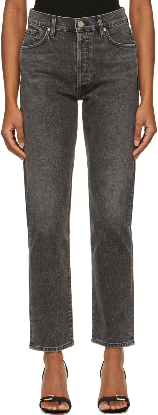 Grey 'The Benefit' Jeans