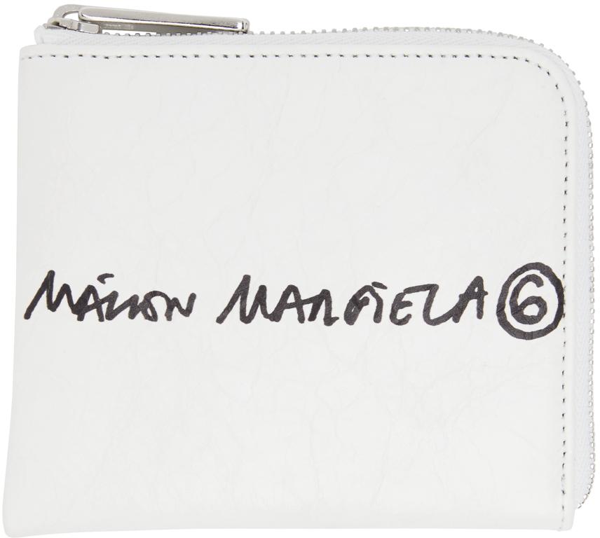 MM6 Maison Margiela スモール ジップアラウンド ウォレット