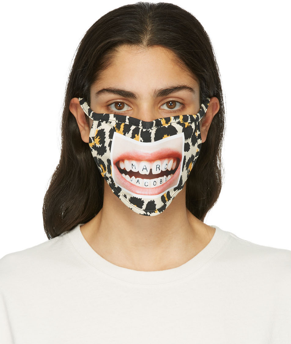 Marc Jacobs 驼色 @HEY_REILLY 联名 The Mask 口罩