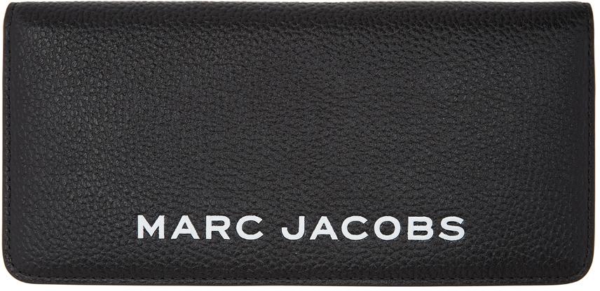 Marc Jacobs 黑色 The Bold Open Face 钱包
