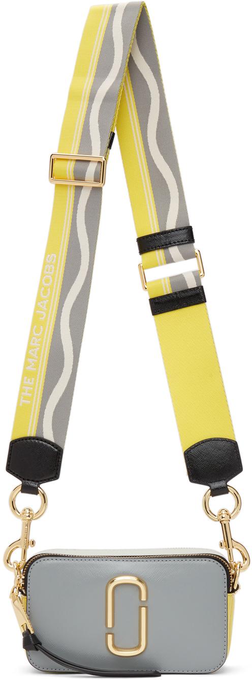 Grey & Yellow 'The Snapshot' Bag