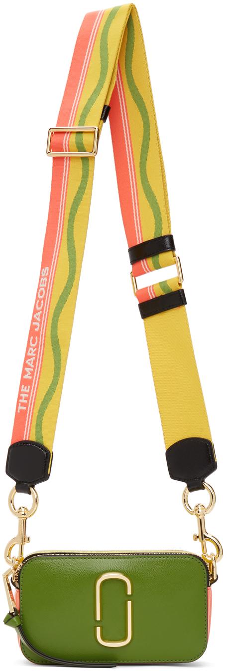 Green & Yellow 'The Snapshot' Bag