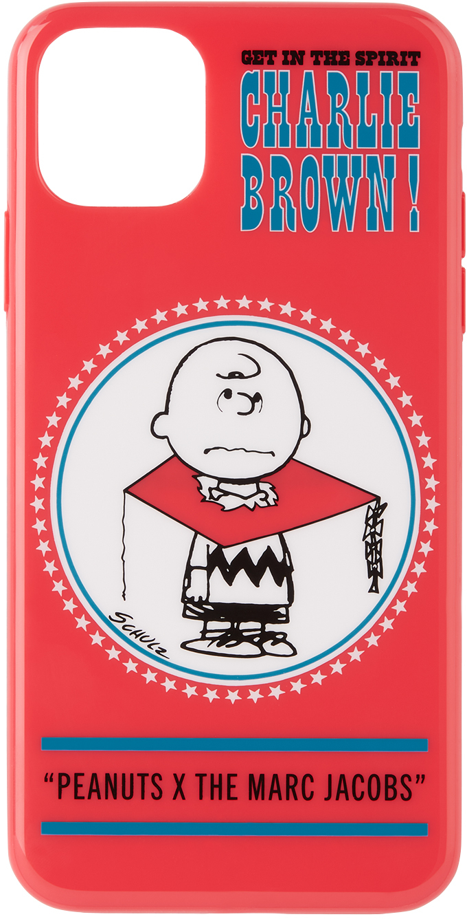 Red Peanuts Edition Charlie Brown iPhone 11 Pro Max Case