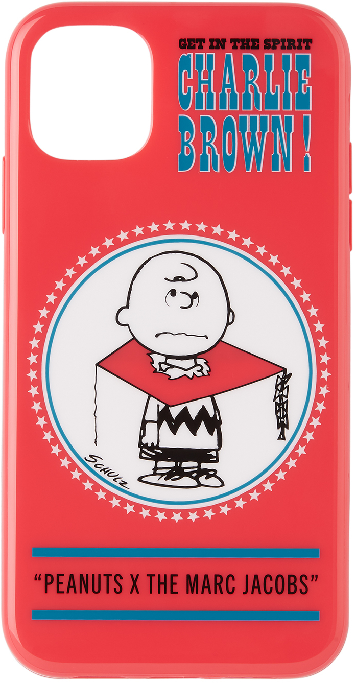 Red Peanuts Edition Charlie Brown iPhone 11 Case
