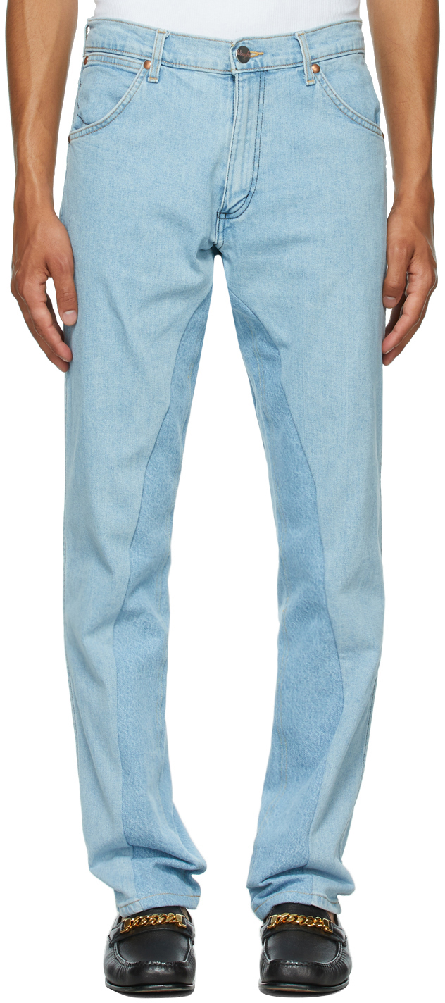Blue Wrangler Edition Replay Jeans
