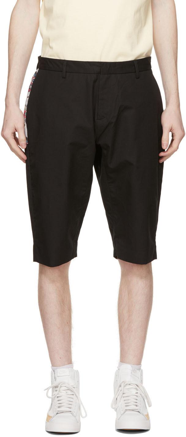 CLOT 黑色精裁短裤
