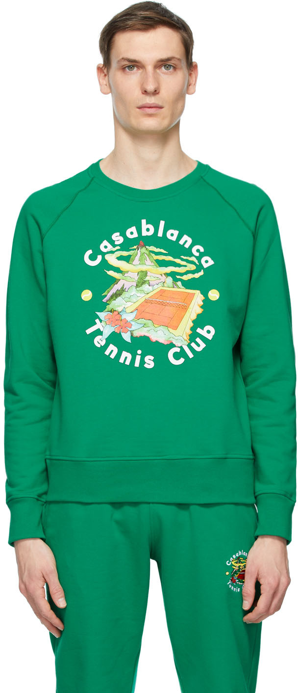 Green Tennis Club Island Sweatshirt
