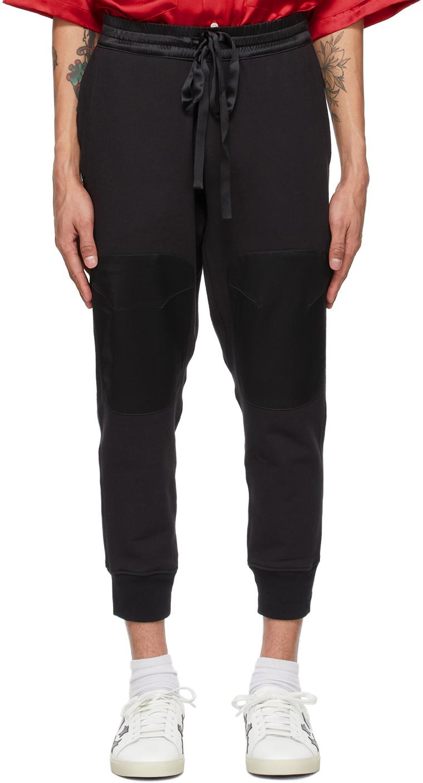 Nahmias Black Campus Lounge Pants