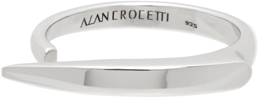 Silver 'Viper' Ring