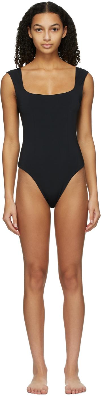 Black Brigitte One-Piece Swimsuit