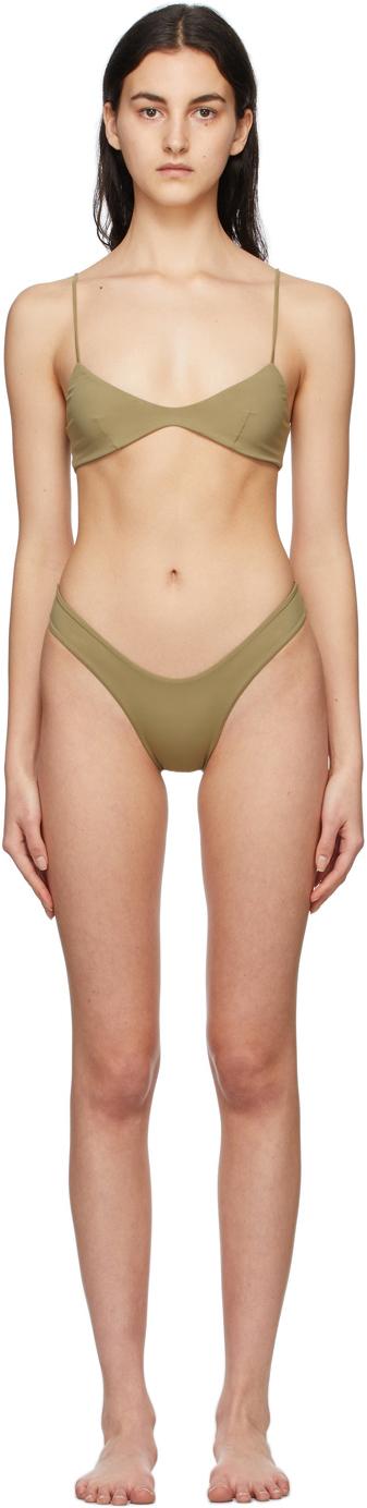 Green Cris & Leila Bikini