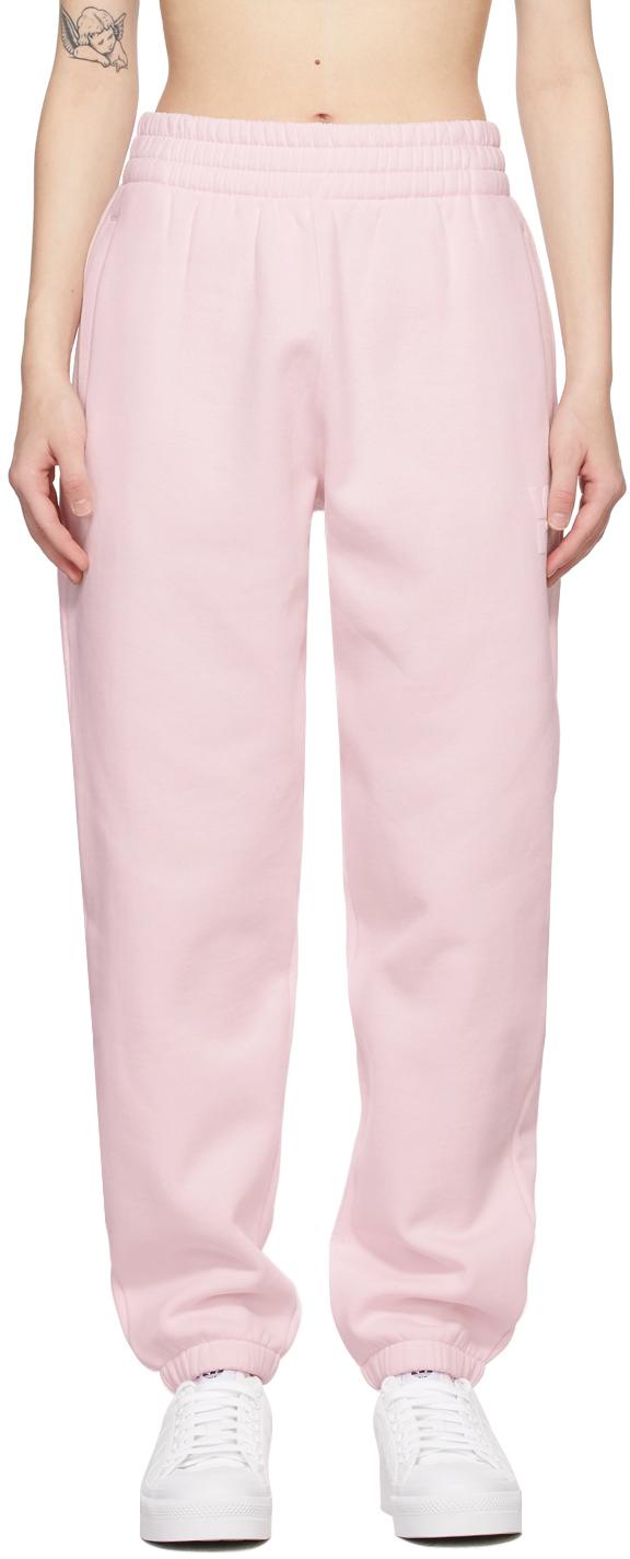 alexanderwang.t 粉色 Foundation Terry 运动裤