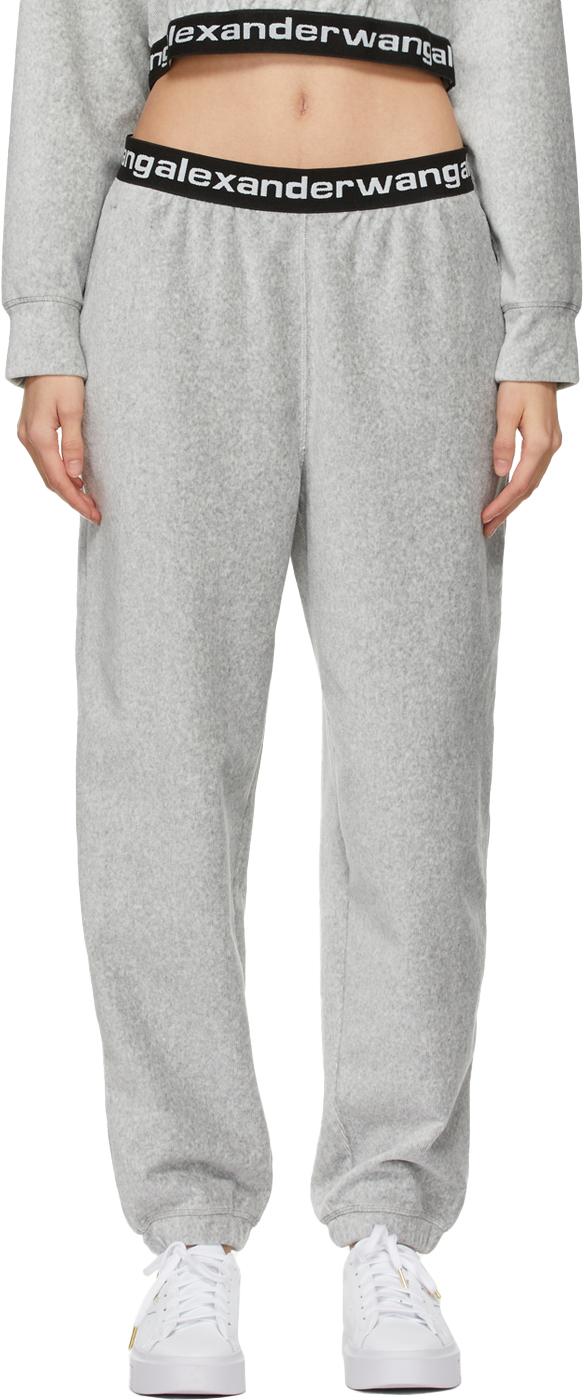 Grey Stretch Corduroy Lounge Pants