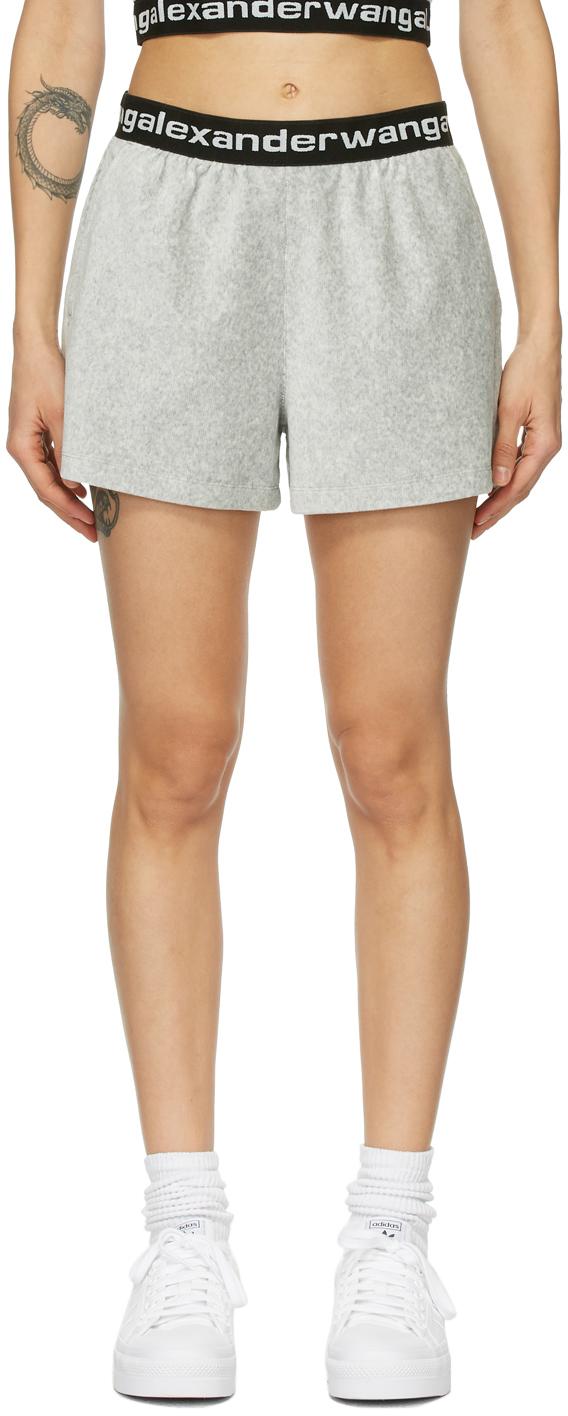 Grey Corduroy Shorts