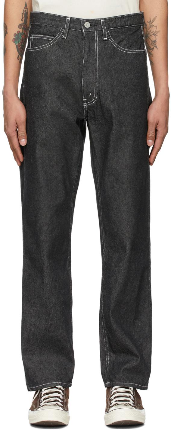 Black Anders Workers Jeans