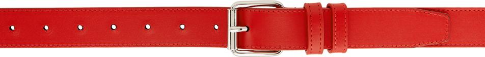 Red Huge Logo Belt