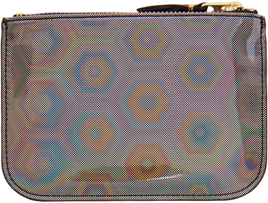 Silver Small Rainbow Pouch
